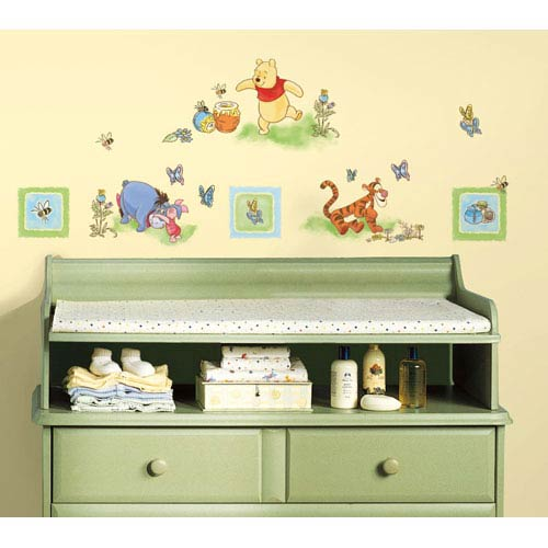 Roommates Decor Winnie the Pooh - Toddler Peel and Stick Wall Decals
