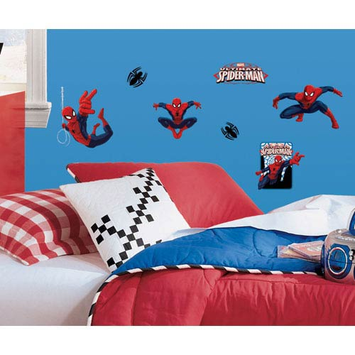 Spiderman - Ultimate Spiderman Peel and Stick Wall Decals