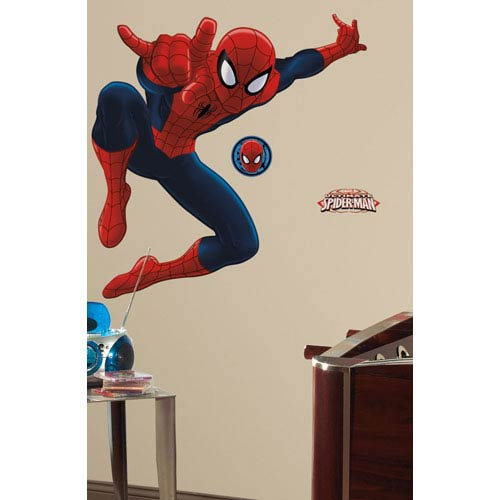 Spiderman - Ultimate Spiderman Peel and Stick Giant Wall Decal