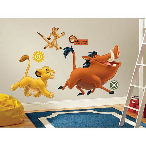 Roommates Decor The Lion King Peel and Stick Giant Wall Decals