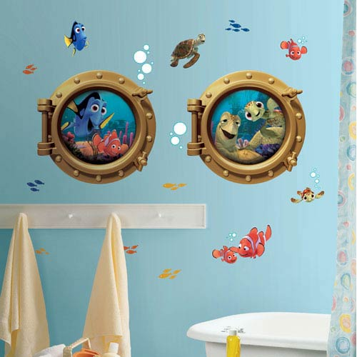 Roommates Decor Finding Nemo Peel and Stick Giant Wall Decals