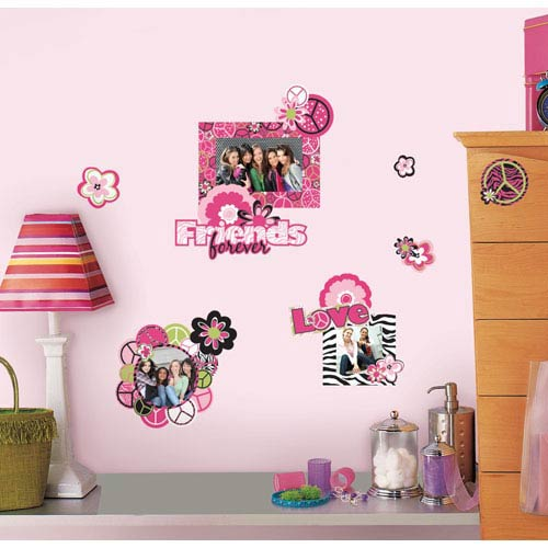 Peace Sign Frames Peel and Stick Wall Decals