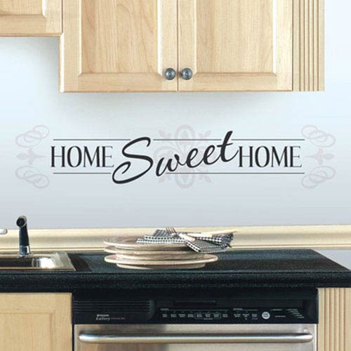 Roommates Decor Home Sweet Home Peel and Stick Wall Decals