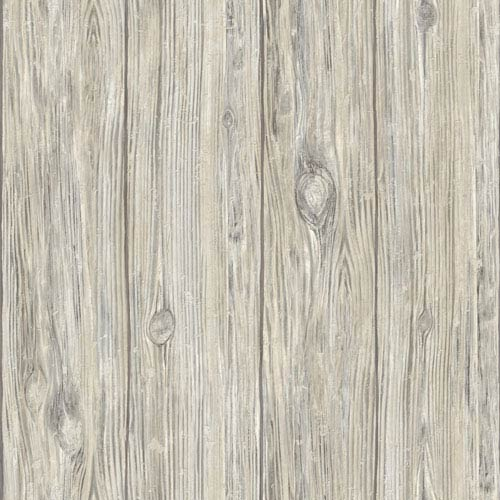 Grey Mushroom Wood Peel and Stick Wall Décor