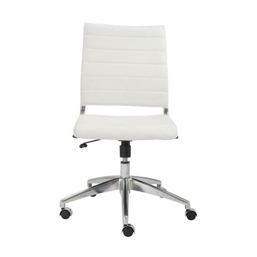 Axel White Low back Chair
