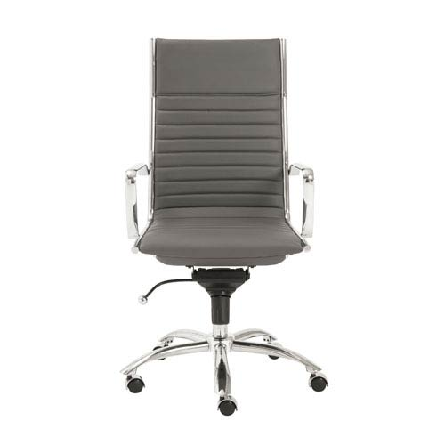 Eurostyle Dirk Gray High Back Office Chair