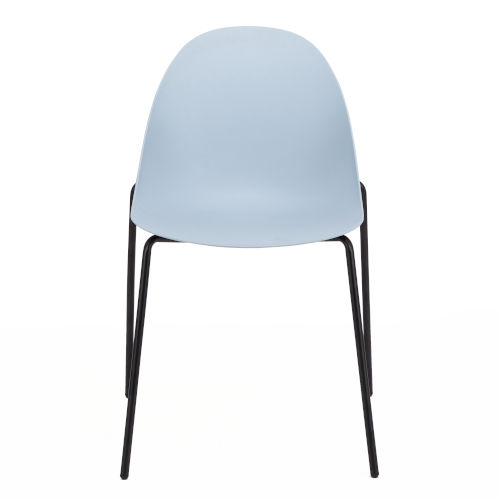 Tayte Blue Stacking Side Chair, Set of Two