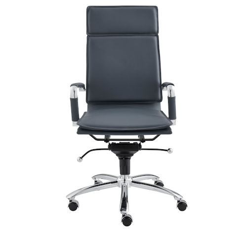 Gunar Blue 26-Inch Pro High Back Office Chair