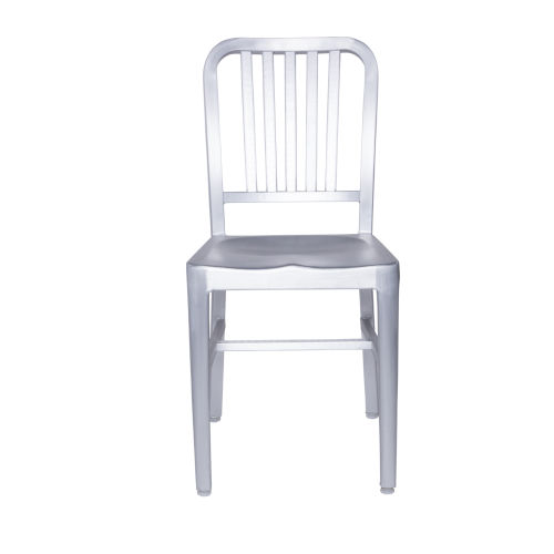 Cafe Silver 16-Inch Side Chair, Set of 2