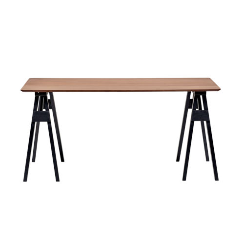 Jayelle Walnut 63-Inch Rectangular Dining Table