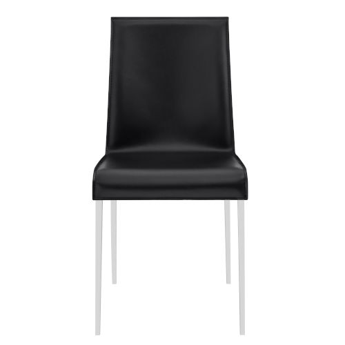 Cam Black 18-Inch Side Chair, Set of 2
