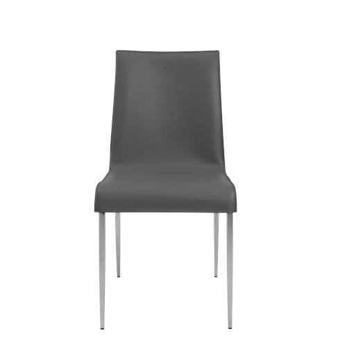 Cam Gray 18-Inch Side Chair, Set of 2