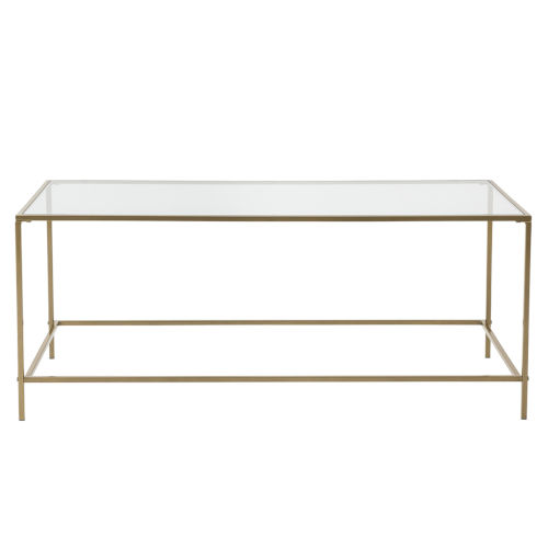 Arvi Brass 44-Inch Coffee Table