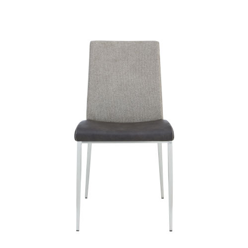Rasmus Dark Gray 22-Inch Side Chair, Set of 2