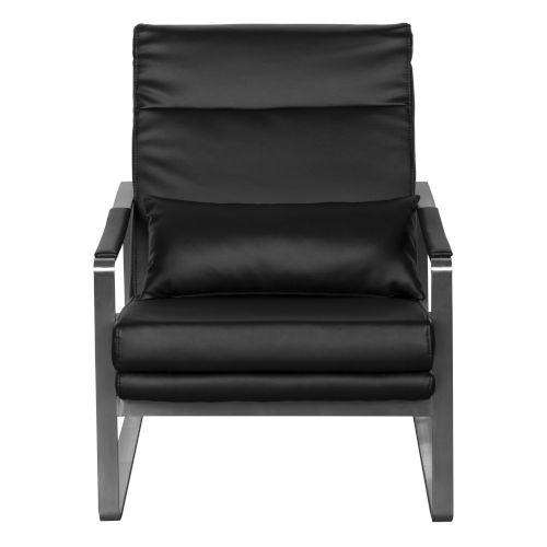 Harrison Black 27-Inch Lounge Chair