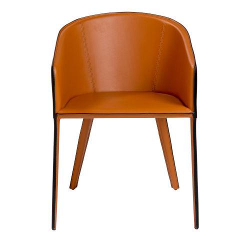 Pallas Cognac 21-Inch Arm Chair