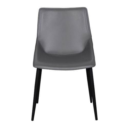 Landis Gray 20-Inch Side Chair