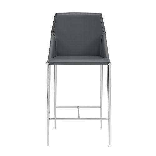 Kasen Gray 20-Inch Counter Stool