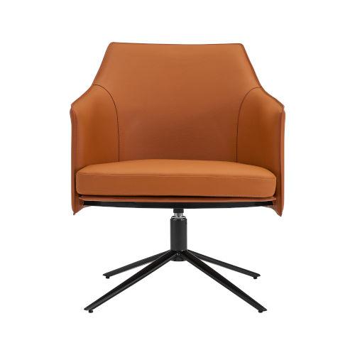 Signa Cognac 26-Inch Lounge Chair