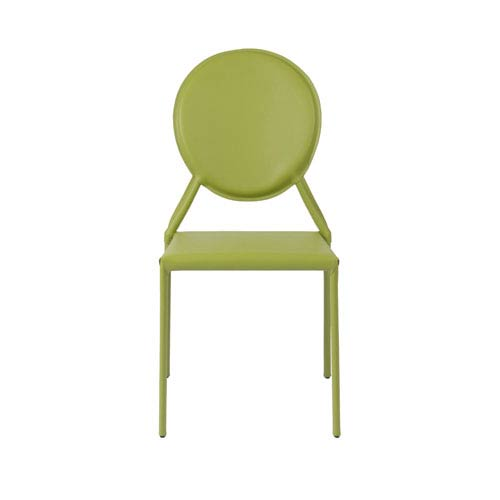 Milo Green Side Chair, Set of Two