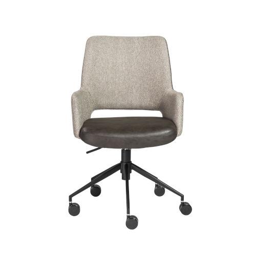 Emerson Light Gray Office Chair
