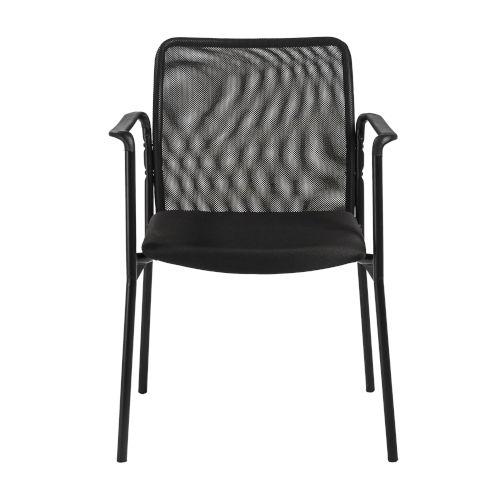 Emerson Black Arm Chair