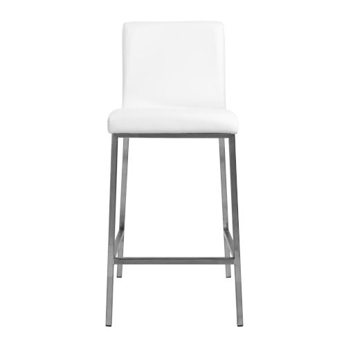 Emerson White Counter Stool, Set of 2