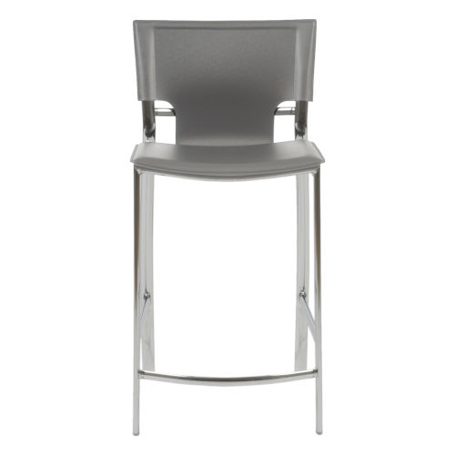 Vinnie Gray 17-Inch Counter Stool, Set of 2