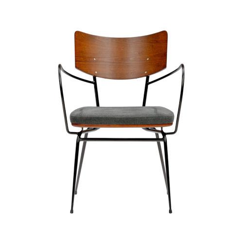 Gensvig Gray 22-Inch Arm Chair