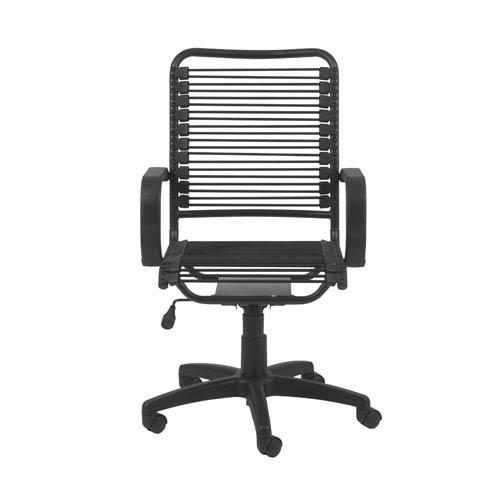 Bradley Graphite Black Bungie Office Chair