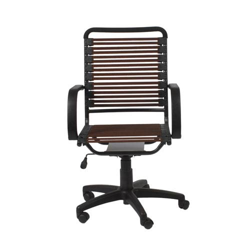 Bungie Brown Flat High Back Office Chair