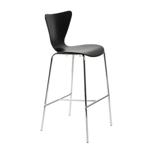 Tendy Black Bar Chair, Set of Two