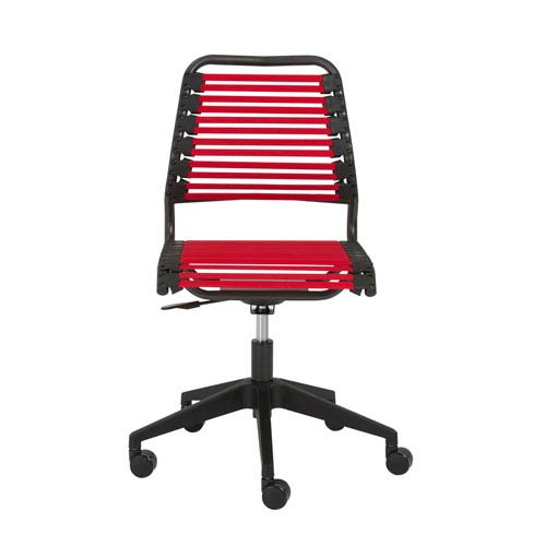 Baba Red Low back Chair
