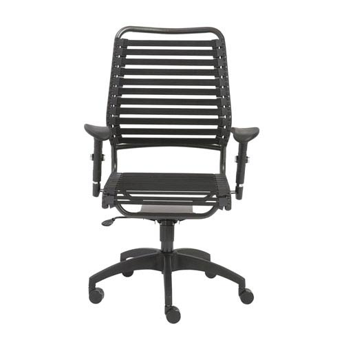 Baba Black High back Chair
