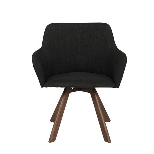 Sampson Dark Gray Arm Chair