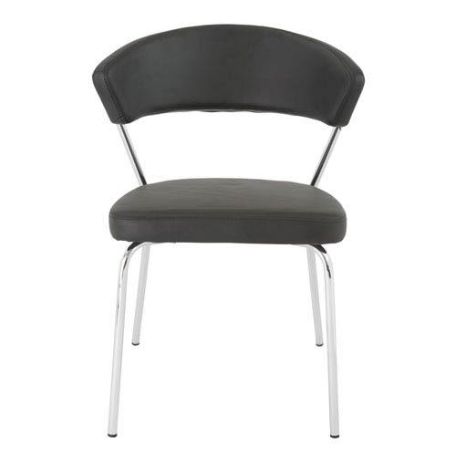 Draco Black Side Chair, Set of 4