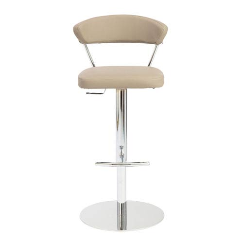 Draco Taupe Bar Stool
