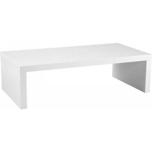 Charmant Eurostyle Abby White Lacquer Coffee Table