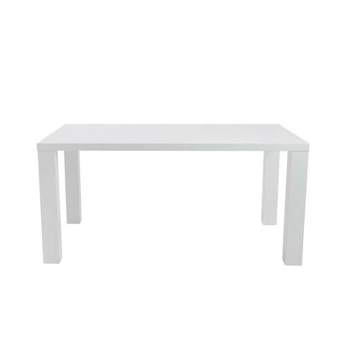 Abby Rectangle Dining Table in White