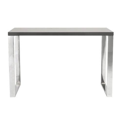 Eurostyle Dillon Gray Lacquer Desk