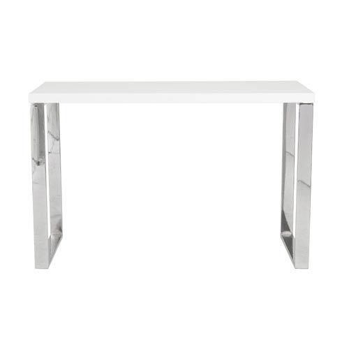 Eurostyle Dillon White Lacquer Desk
