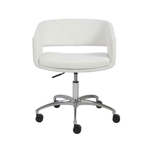 Eurostyle Amelia White Office Chair