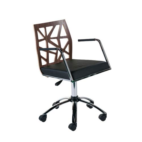 Eurostyle Sophia Walnut Office Chair