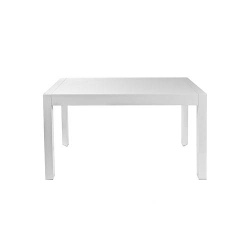Eurostyle Adara White Lacquer Dining Table