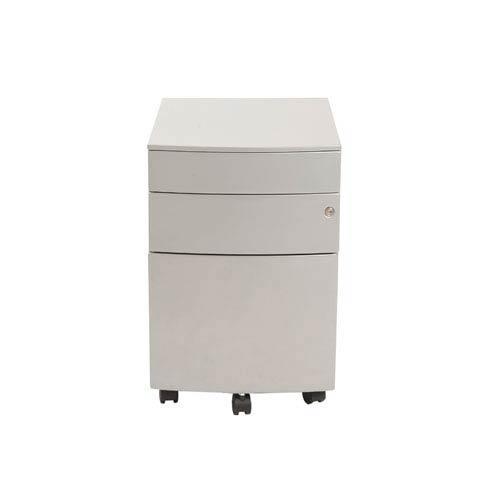 Eurostyle Floyd Silver PPF Filing Cabinet