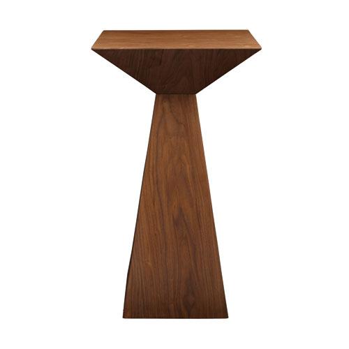 Eurostyle Tad Bar Table In American Walnut Veneer