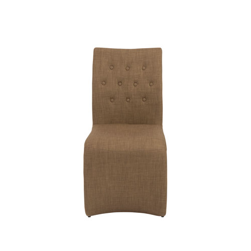 Eurostyle Zad Mocha Side Chair, Set of 2