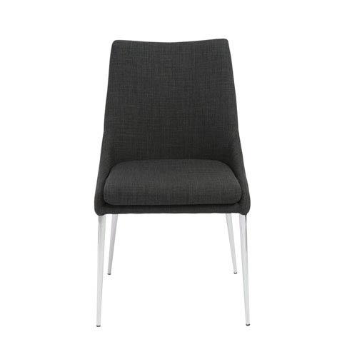 Tarnana Charcoal Side Chair, Set of 2