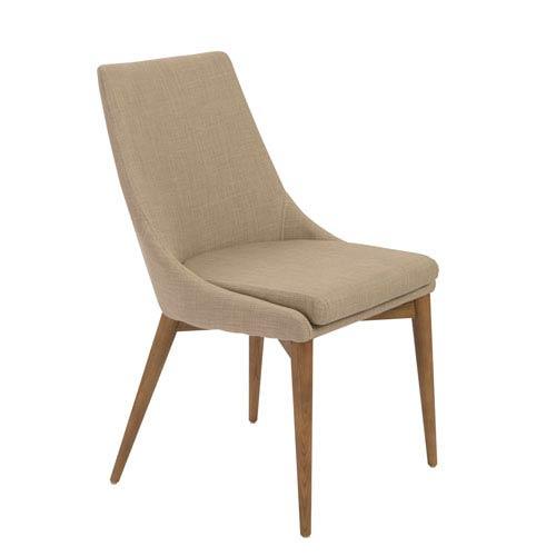 Eurostyle Calais Tan Side Chair, Set of 2