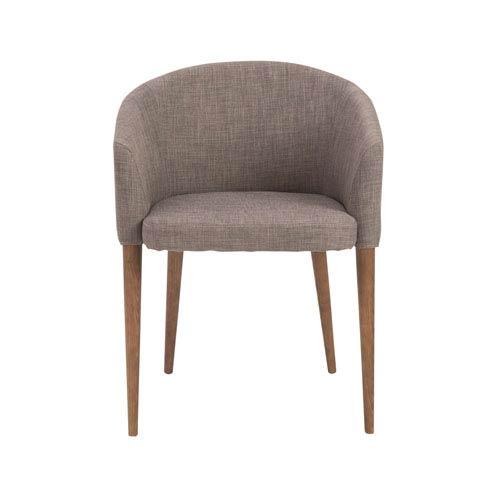 Savannah Dark Gray Arm Chair, Set of 2